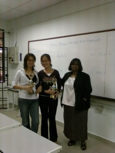 Champions of Battle of Minds 2008!